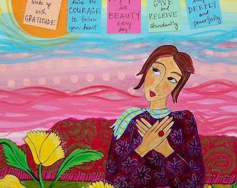 Print : Wake with Gratitude  #53-P