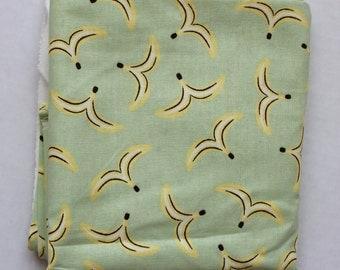 DESTASH - Green Bananas Fabric