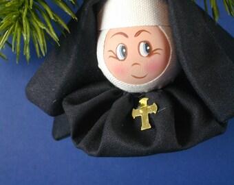Nun Ornament