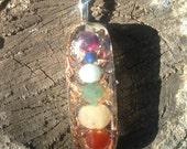 orgone chakra pendant