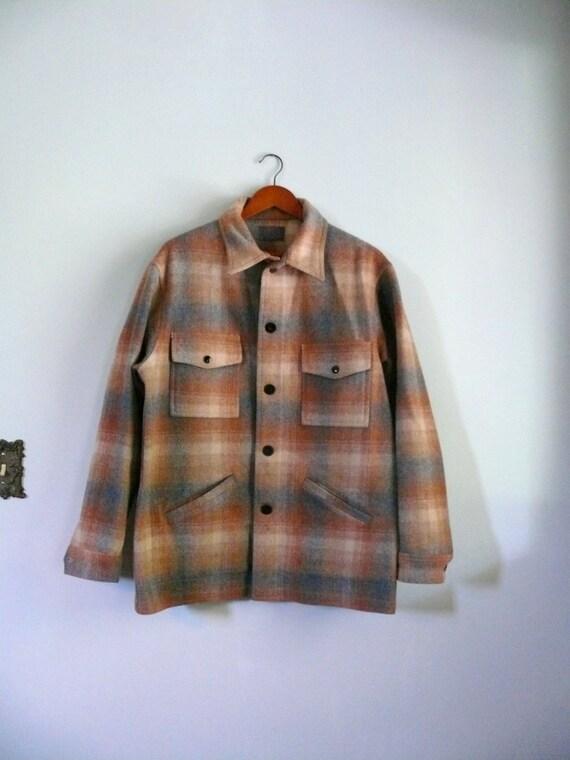 Vintage Men S Pendleton Wool Jacket By Adelaidehomesewn On