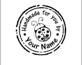 Personalized Custom Made Name Unmounted Rubber Stamps H06