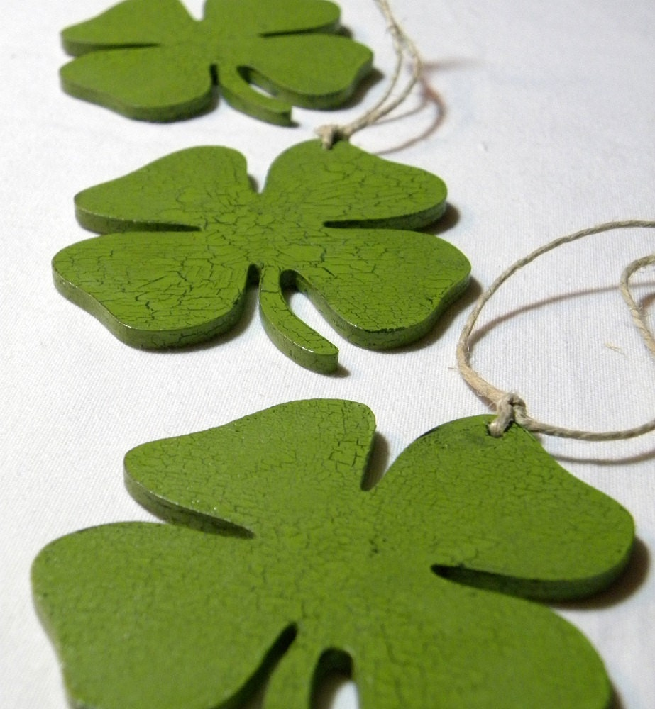 Wedding Favor Shamrock Irish Celtic Party By MaineWeddingArtist