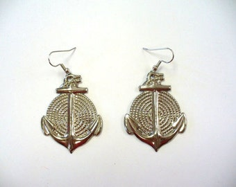 Vintage Anchor Earrings DEADSTOCK