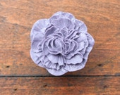 Drawer Knobs Peony Flower in Purple, more COLORS available (RFK02)