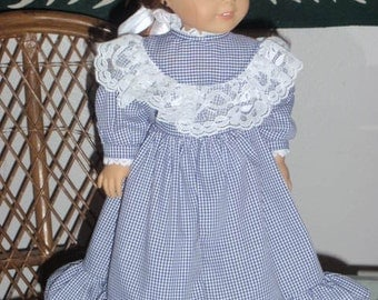 1870s  Anne of Green Gables Dress American Girl Kirsten 18 inch doll