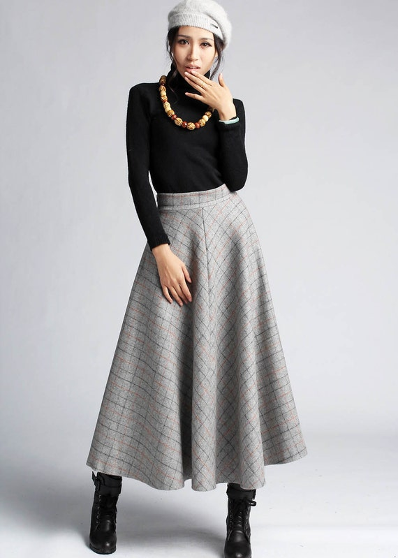 Winter Wool Skirt 60
