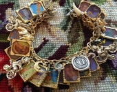 The Circus Ship by Chris Van Dusen Altered Art Charm Bracelet