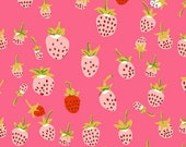 Strawberry in Pink from Briar Rose by Heather Ross - Half Yard