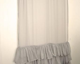 Chiffon Bedroom Curtain