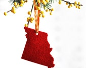 Christmas Ornament Missouri Christmas Ornament Gift for the Hostess Tree Trimming Holiday Decoration AHeirloom