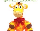 Polymer Clay Giraffe Tutorial - Also for Fondant, Sugar Paste, & Other Sculpting Mediums
