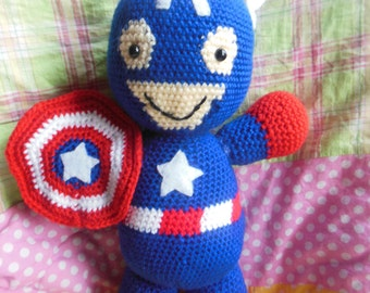 Captain America Crochet PATTERN