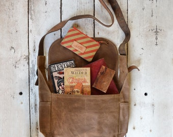 The Finch Satchel: Spice by Peg and Awl