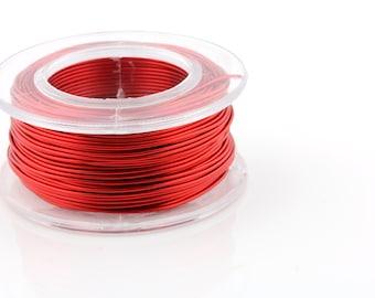 24 Gauge Red - Enamel Copper Wire - 20 yard spool.