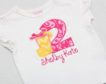 Pink Lemonade Birthday Shirt