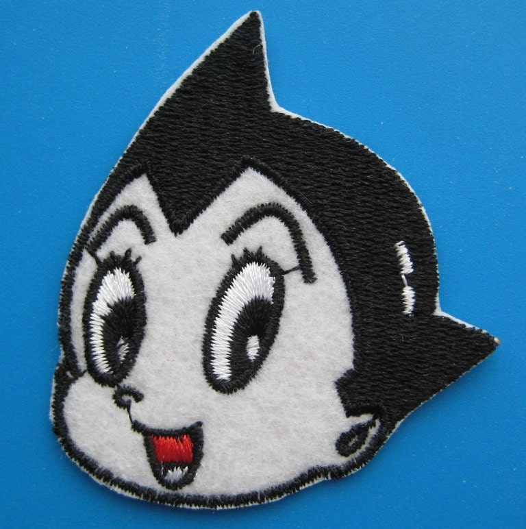 SALE 2 Pcs Iron-on Embroidered Patch Astro Boy 2.5 Inch