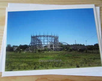 Lonely Roller Coaster Photography Joyland