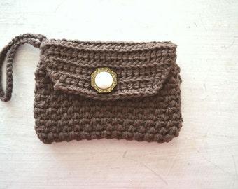 Crochet Wallet Pattern Clutch PDF Crochet Clutch Pattern Wristlet DIY Beginner