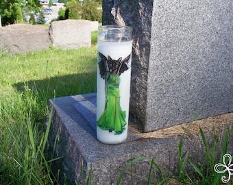 Bast Pagan Prayer Candle