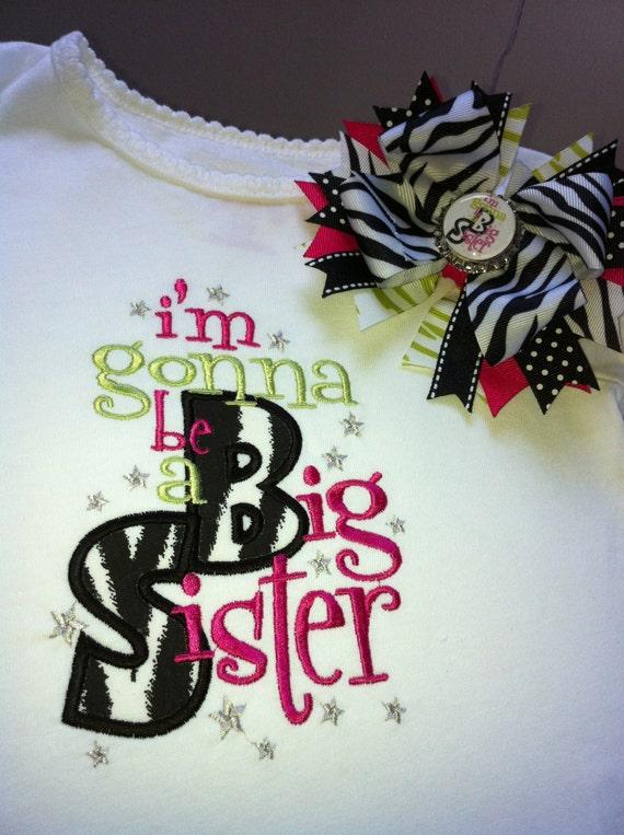 Sassy Big Sister Shirt