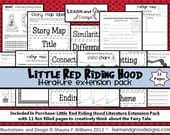 Little Red Riding Hood Literature Extension Writing Pack