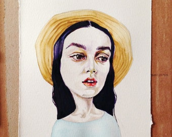 "Emily  8""x12"" Giclee Print"