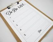 Printable To Do List - PDF File Office Home Organization Printable List