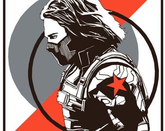 Winter Soldier Propaganda Poster