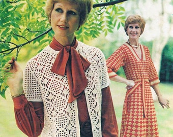 Vintage Crochet For Women by Patons