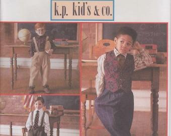 Boys Dress Pants Pattern Vest Pattern Tie Pattern Boys Size 3 - 6 Uncut Simplicity 8567