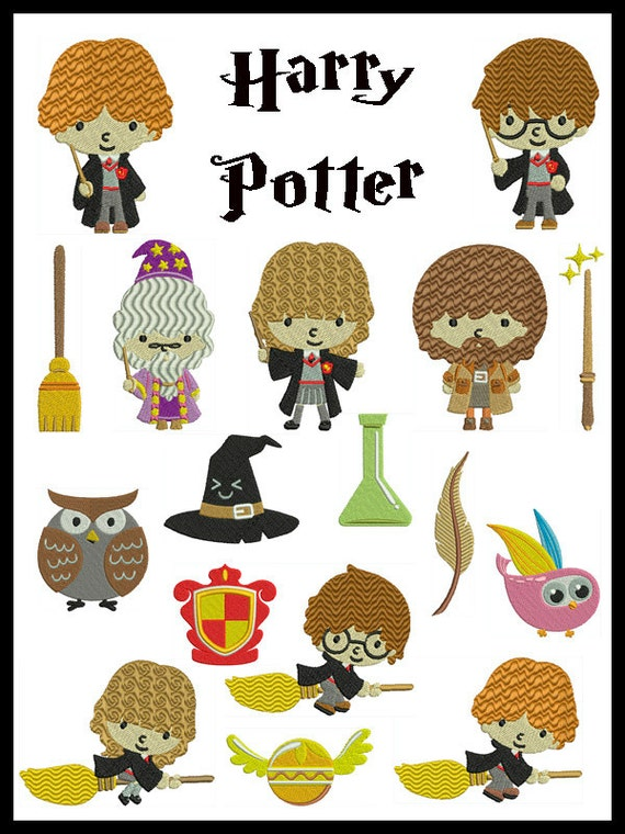 On sale harry potter machine embroidery by embroiderquilt