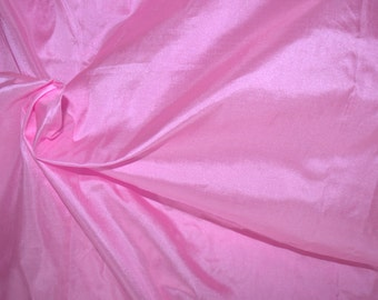 Silk taffeta in Persian Rose/Pink, Fat quarter-TF16.