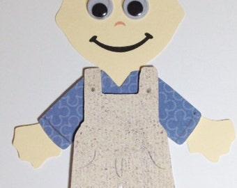 Farmer craft kit for kids