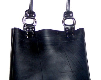Recycled rubber tote bag - Eco friendly