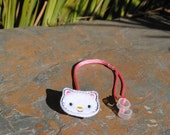 Kyra the Kitty - Hearing Aid Cord or Cochlear Implant Cord