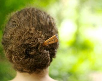 Wooden Hair Stick | Wood Hair Stick | Mom Hair Style | Easy Hair Style | Natural Hair Style | Wooden Hair Sticks | Wood Hair Sticks