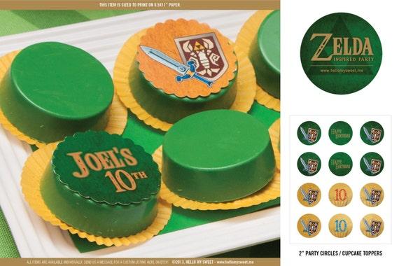 Zelda Party Circles