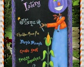 E PATTERN - Purple Punkin Eatery! - Fun, colorful Halloween design - Inspired by Terrye French & Painted by Sharon Bond - FAAP