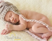 Baby Girl Hat, Newborn Baby Hat, Knit Baby Girl Hat, Baby Winter Hat, Knit Newborn Hat, Knit Baby Hat