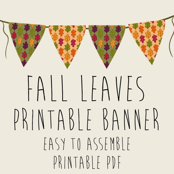 Divine image pertaining to fall banner printable