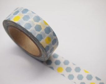 Hexagon Washi Tape (10M)