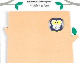 Owl Sticky Notes / Memo / Post it