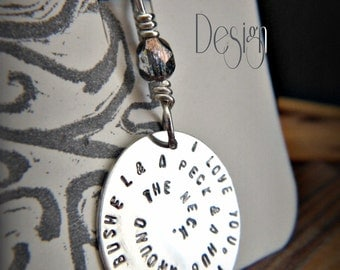 Personalized Argentium Sterling Silver Custom Charm, Design You Own   Price is Approx.