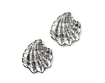 Oyster Cufflinks - Gifts for Men - Anniversary Gift - Handmade - Gift Box Included