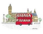 London Icons - 5x7 Art Print