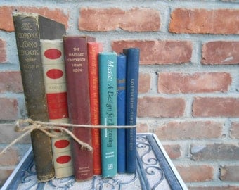 Vintage Instant Library. MUSIC COLLECTION. Vintage Home Decor. Cabin Decor