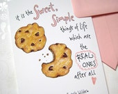 Birthday Cookie Card - Quote Card - Sweet Simple Things of Life