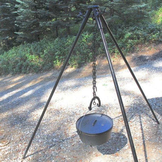Campfire Cooking Tripod Tripod Campfire Stand Extra