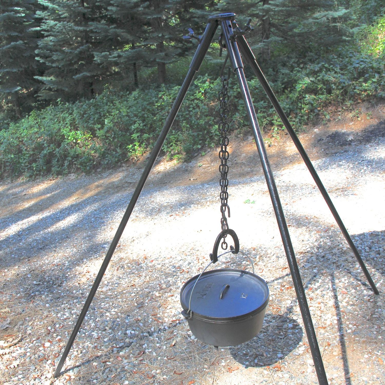 Campfire Grill Tripod Tripod Campfire Stand Extra